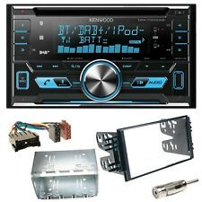 Kenwood DPX-7000DAB Bluetooth CD Einbauset für Kia Sorento JC Rio DC Carnival