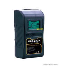 LCD display 230Wh Li-ion Battery Anton Bauer mount for DSLR Camera LED light