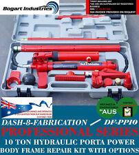 10 TON HYDRAULIC PORTA POWER PANEL BEATING REPAIR KIT DENT FRAME REPAIR TOOLS**