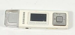 Samsung White Digital USB MP3 Music Audio Player YP-U2J Tested Works