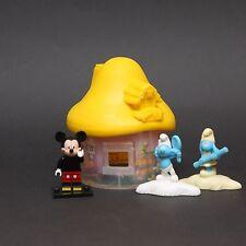 Smurfs The Lost Village McDonalds Happy Meal Toys 2017 VANITY SMURF & GIRL SMURF