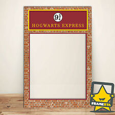 Harry Potter Decorations Props (80 x 110 cm) Platform 9 3/4 - Facebook Frame
