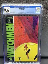 Watchmen #1 CGC 9.6 1986 DC Comics 1st app. Rorshcach - DR. Manhattan