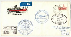 RSA 1983 RESEARCH SHIP M.V. 'S.A. AGULHAS' PAQUEBOT & VARIOUS CACHETS VOYAGE 27