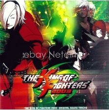 New 0180 THE KING OF FIGHTERS 2003 SOUNDTRACKS CD SOUNDTRACK CD Anime Game Song