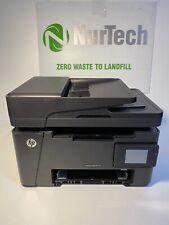 "HP LaserJet Pro MFP M127fw Printer All-in-one USB Wi-Fi LAN 3.5"" LCD 4.2K CZ183A"