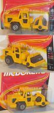 Majorette 52053065 Baumaschine Roller Straßenwalze, Vorbau drehbar