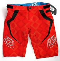 Troy Lee Designs Ace Men's BMX Bike Cycling Shorts - Elite Red / Size 38- NEW