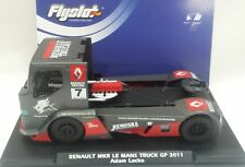 FLYSLOT TRUCK RENAULT MKR LE MANS TRUCK GP 2011- SCALEXTRIC-NEW!