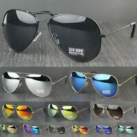 Tear Drop Classic Pilot Metal Frame UV400 Lens Cat.3 Lens Sunglasses