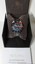 Bulova Oceanographer Snorkel Automatic 666ft Devil Diver Minty Watch Box Papers