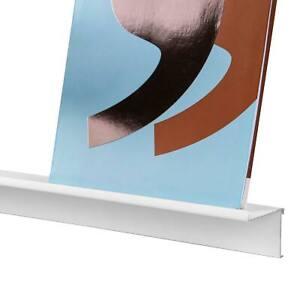 Bilderleiste Bilderboard Galerieboard Bilder-Aufsatz-System aus Aluminium