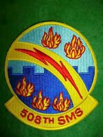 USAF, Air Force - 508th SMS Strategic Missile Squadron Patch