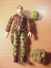 GI JOE - 1986 HAWK - Action Figure - Figure, Backpack & Helmet