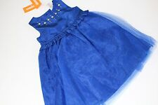 Gymboree Holiday Best In Blue Girls Size 2T Rhinestone Dress NEW