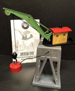 American Flyer 6-49819 S Scale Operating Electromagnetic Crane #583A Lionel