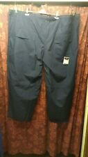 Cohesion Navy Cotton Casual Trousers 58 R