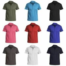 Jersey Henley Short Sleeve T-Shirts for Men