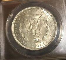 1921 Morgan Dollar Struck Thru Thick Grease Silver Morgan Dollar Mint Error MS64