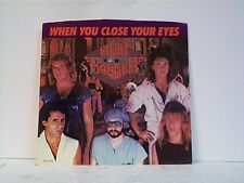 "NIGHT RANGER ""WHEN YOU CLOSE YOUR EYES / WHY DOES LOVE HAVE TO CHANGE"" 45w/PS NM"