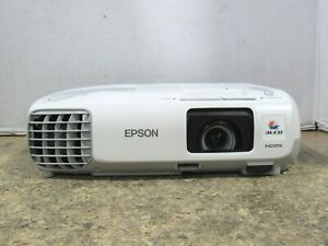 Epson PowerLite 98 3LCD XGA Conference Room Projector 3000 Lumens 766 Lamp Hours