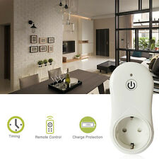 1 x Wireless WiFi Smart Power EU Plug Phone Remote Repeater Outlet Switch Socket
