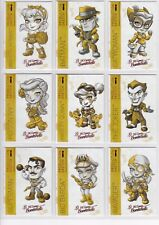 DC Comics Bombshells 2 Complete Lil Sketch Chase Card Set A1-9