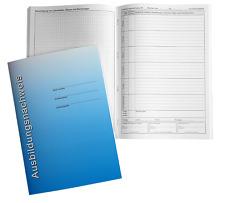 Ausbildungsnachweis - Berichtsheft - tägliche Eintragungen (Mo.-So.) und Skizzen