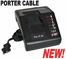 NEW Porter-Cable PCMVC 9.6V - 18V Multi-Volt NiCD Battery Charger (PC18B PCC489)