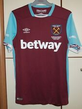 West Ham 2016 - 2017 United Home football shirt jersey Umbro size S