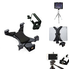 Tripod Mount Adapter Cell Phone Holder Clamp for iPhone iPad PHONES Tablets
