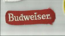 Budweiser advertising patch 7/8 X 3-1/4 #4401