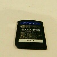 Uncharted Golden Abyss Sony PlayStation Vita PS Game Cart Tested