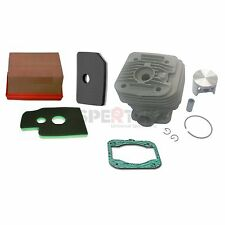 Cylinder Piston + Gasket + Air Filter For Makita DPC7310 DPC7311 Cut off Nikasil