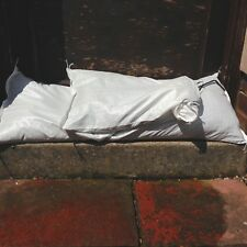 Yuzet White Woven Polypropylene Sandbags Sacks Flood Defence Sand Bags
