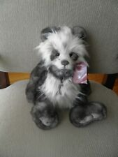 "Charlie Bears Ainsley is a plush bear and stand 15"" tall."