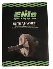 Elite Sportz Ab Wheel Rollers - Smooth Rolling, Non- Slip Handles (Single Wheel)