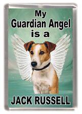 "Jack Russell Dog Fridge Magnet ""My Guardian Angel is a Jack Russell"" - Starprint"