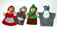 Red Riding Hood Finger Puppets Fairy Tales, Story Telling, Creative Soft Toy