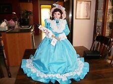 "JIMISA Umbrella Porcelain Doll ""Victorian Style"
