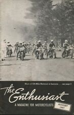 1947 August - The Enthusiast - Vintage Harley-Davidson Motorcycle Magazine