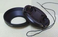 40.5 mm Metal Camera Lens Hood + 62mm Cap for Wide Angle Lens 40.5WC62