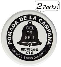 2x DR. BELL Pomade - Pomada de la Campana Dr. Bell's Skin Ointment 2.6 oz Each !