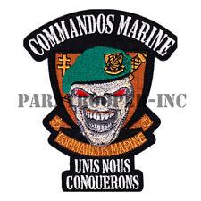 Patch / Ecusson - Unis Nous Conquérons (Commandos Marine)