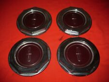 Used Lincoln Continental Mark Series Center Caps Set For Wire Wheels On 1982-89