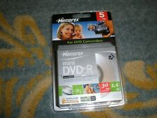 NEW MEMOREX MINI DVD-R RECORDABLE MEMOREX MINI DVD-R RECORDABLE FOR DVD CAMCORDE