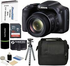 Canon PowerShot SX530 HS 16MP 50x Optical Zoom HD IS Digital Camera +32GB Bundle
