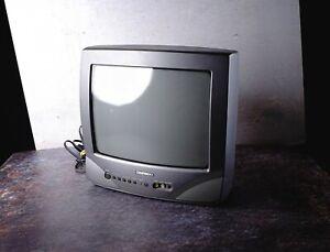 Daewoo DVQ-13V1FC 13 Inch CRT TV Vintage Retro Gaming Monitor TESTED