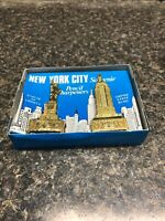 New York City Souvenir Pencil Sharpeners Statue of Liberty & Empire State BLDG .