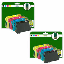8 Ink Cartridges for Epson BX305F BX305FW BX320FW BX525WD non-OEM E1291-4